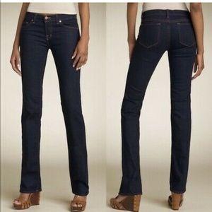 J Brand Cigarette Leg Skinny Black Jeans